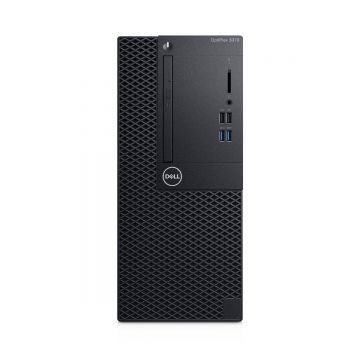 Dell Optiplex 3070 MT PC, i3-9100, 4.20GHz, 8GB RAM, 256GB SSD, Windows 10 Pro