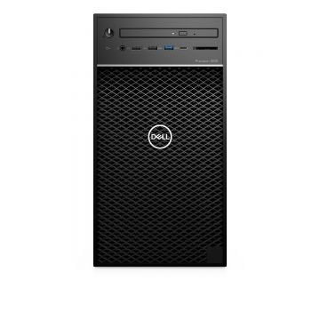Dell Precision T3630 Workstation, i3-9100, 4.20GHz, 16GB RAM, 2x 256GB SSD, Windows 10 Pro